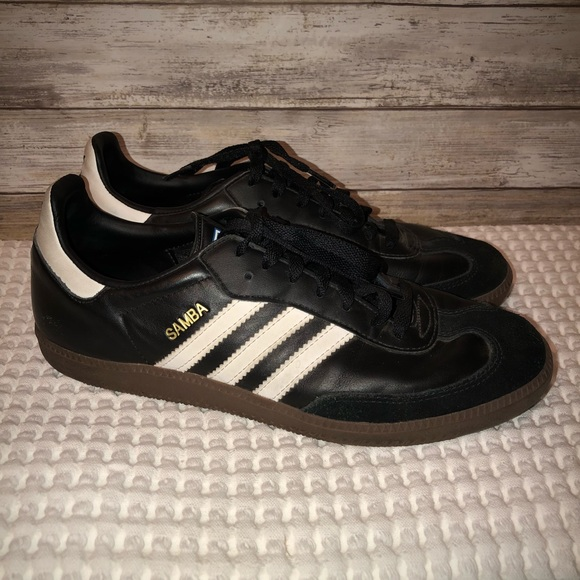 official photos 81cea 394fe adidas Other - Adidas Samba Classic Indoor Soccer Shoes Black